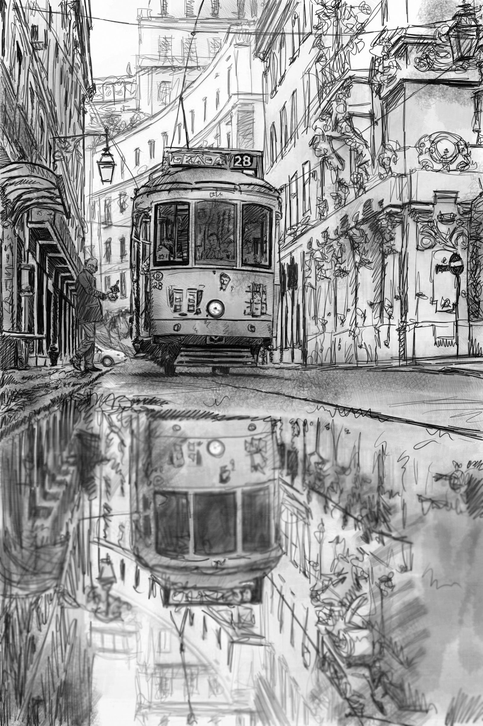 Pin by Ying-Te Lien on Sketch & Illustration | Pinterest | Sketches ...