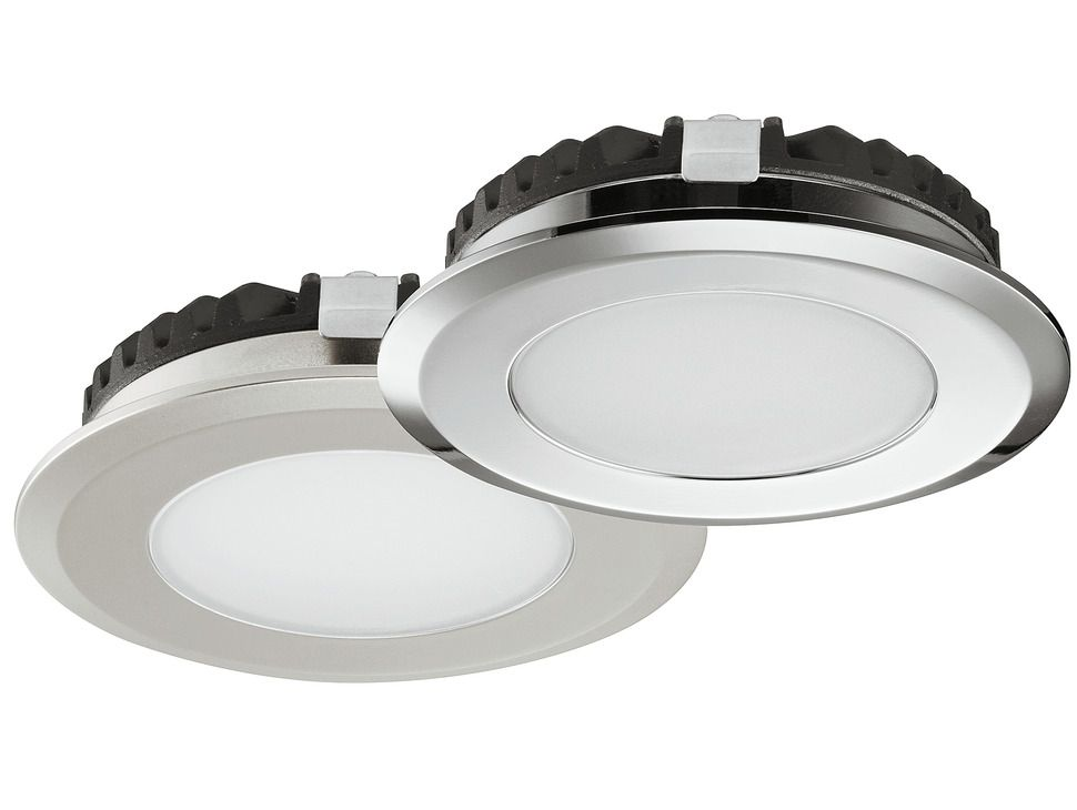 Recess Mounted Puck Light Loox Led 2039 12 V In The Hafele America Shop Puck Lights Downlights Hafele