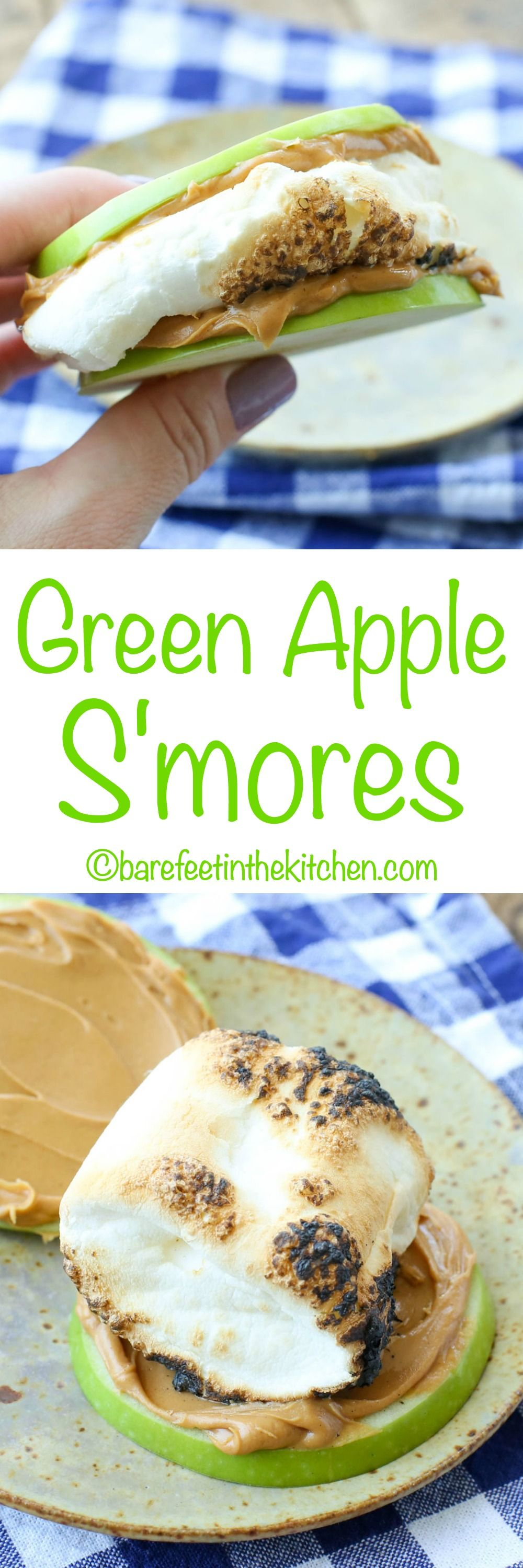 Green Apple S'mores get the recipe at