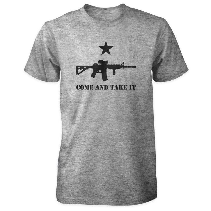 Pro 2nd Amendment Shirt - Come and Take It AR-15 & Star