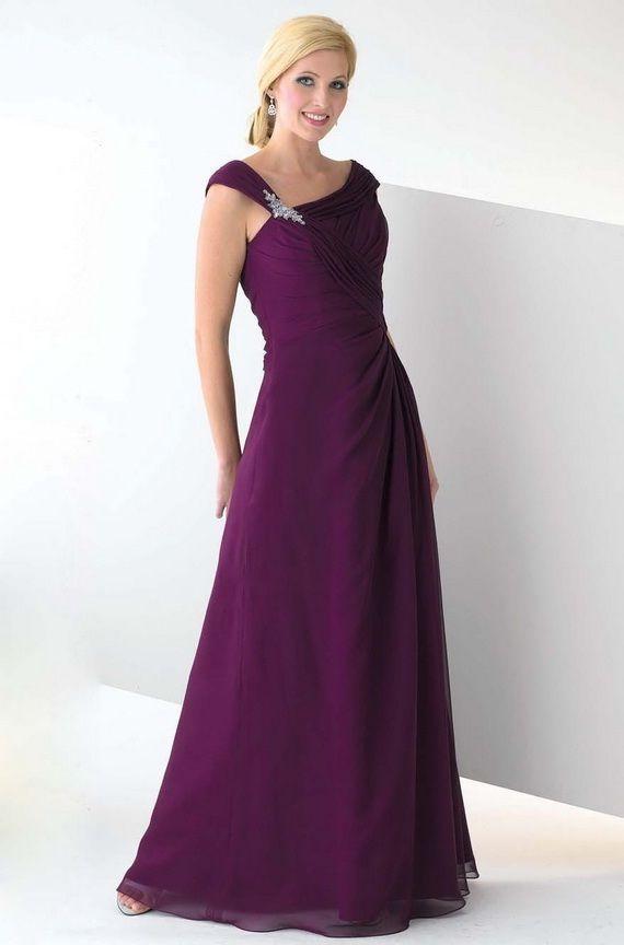 purple bridesmaid dress | Bridesmaid ideas | Pinterest | Vestidos de ...