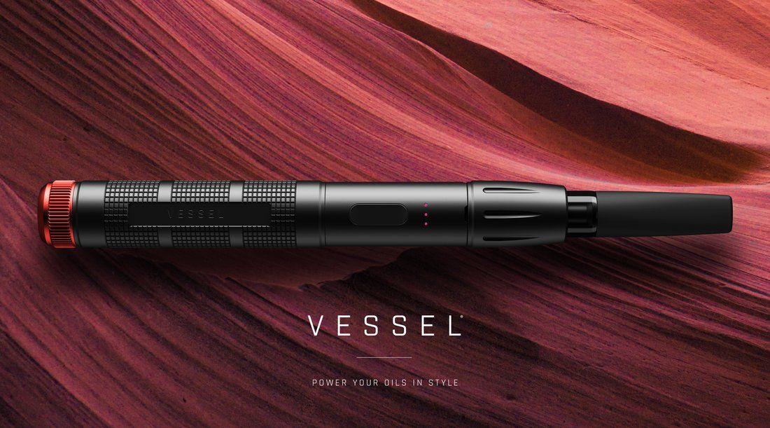 VESSEL® Premium Vape Pen Batteries for 510 Oil Cartridges | afaghn