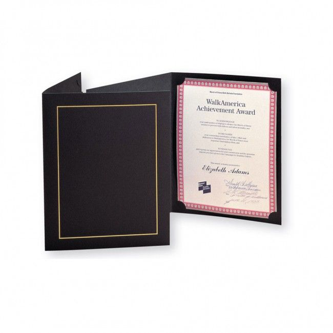 Custom Vinyl Diploma Holder 11 X 17 Insert With Gold Silk Screen Print Certificate Holder Certificate Certificate Templates