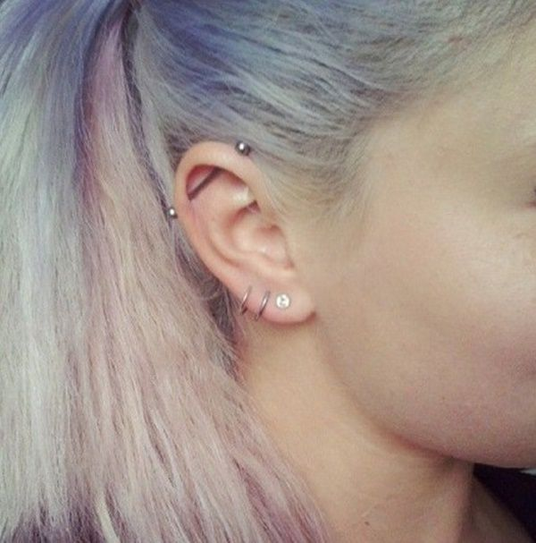 150 Piercing Examples Jewelry Pain Cost Healing Cool Ear