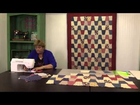 ▷ Tumbler Chevron Quilt: Easy Quilting Tutorial with Jenny Doan ... : quilting tutorials on youtube - Adamdwight.com
