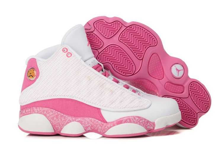 UK Trainers Size|Nike Air Jordan 13 Womens White Pink