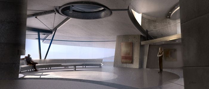 Iron Man 3 Set Design Concept Art