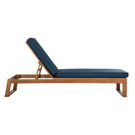 Patio & Garden | Sun lounger, Patio chaise lounge ... on Safavieh Outdoor Living Solano Sunlounger id=30617