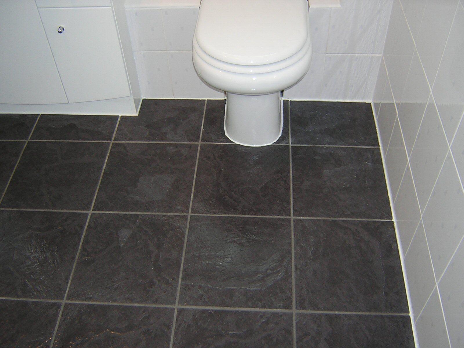 Ikea Bathroom Floor  Vinyl tile bathroom, Bathroom flooring