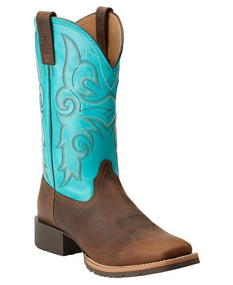 Ariat Women's Hybrid Rancher Cowgirl Boots - Square Toe: