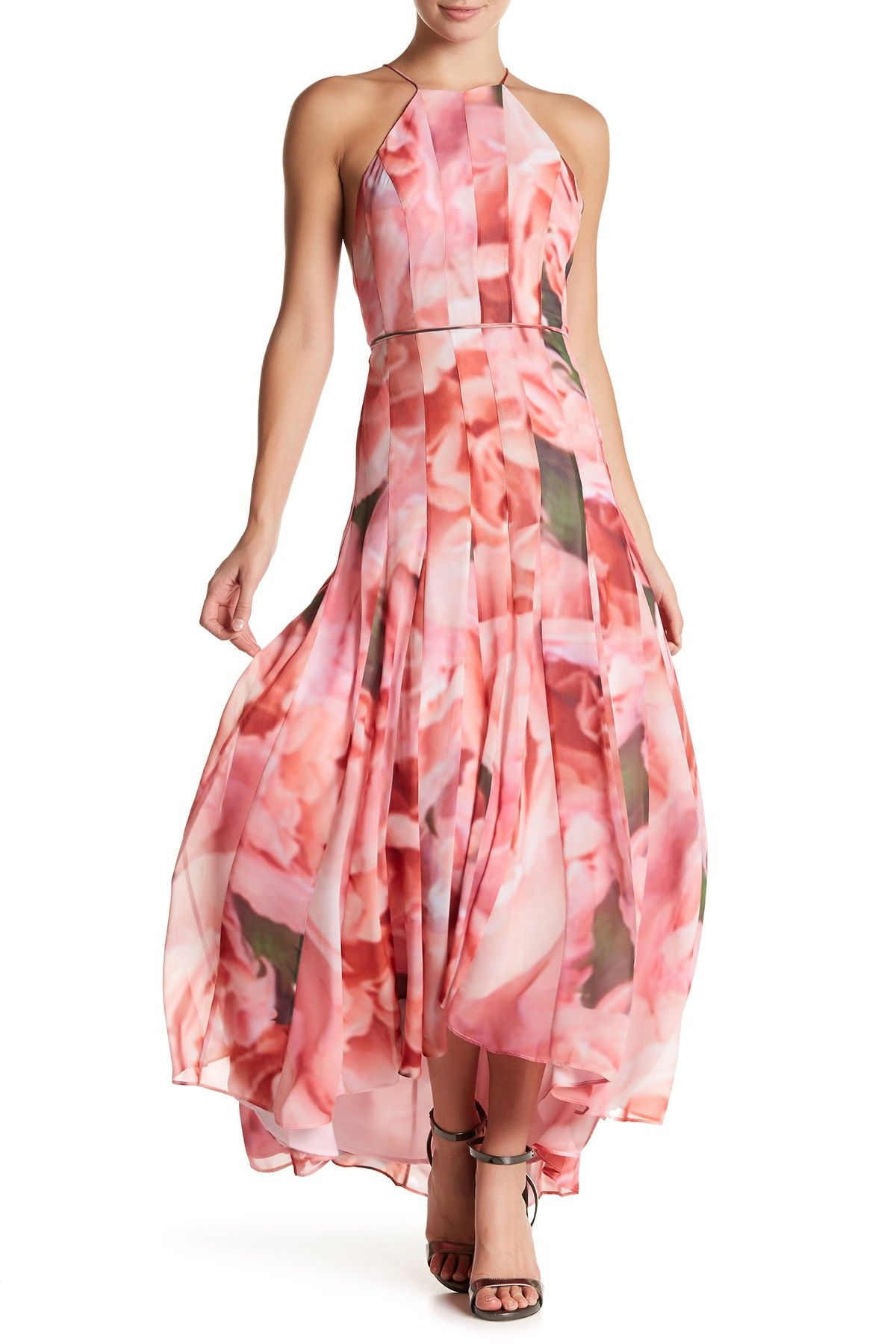 Floral Backless Hi-Lo Dress | Floral, Free shipping and Ships