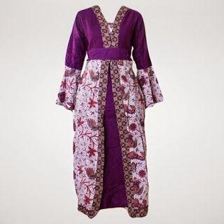 Baju Batik Gamis Terbarumodel Baju Batik Gamisbaju Batik