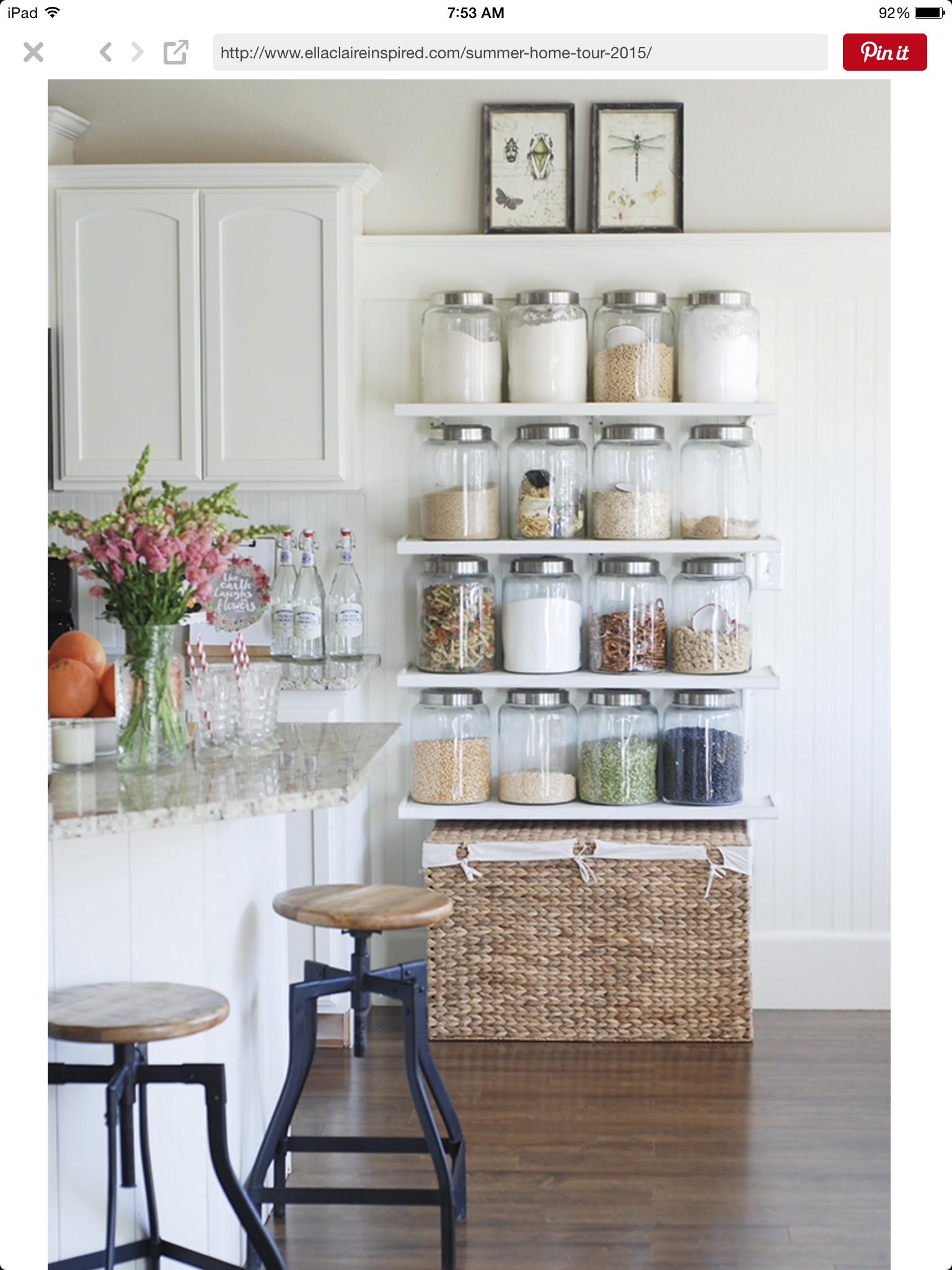 Pin by Mary Lynn Hart on Kitchen | Pinterest | Kitchens, Storage ...