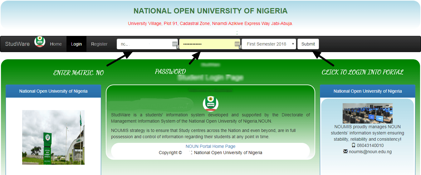 Noun Portal Result 2019 Second Semester Exam Is Out Check Here