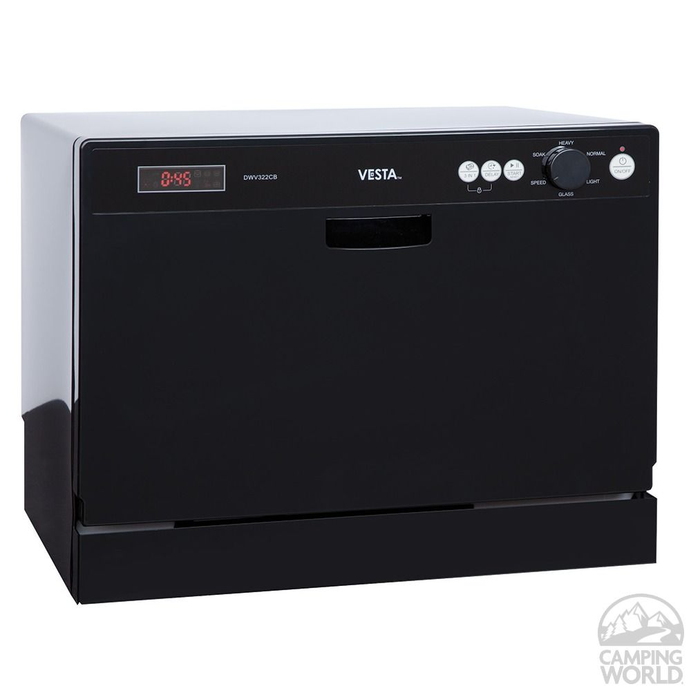 VESTA Countertop Dishwasher - Westland DWV322CB - Dishwashers - Camping World