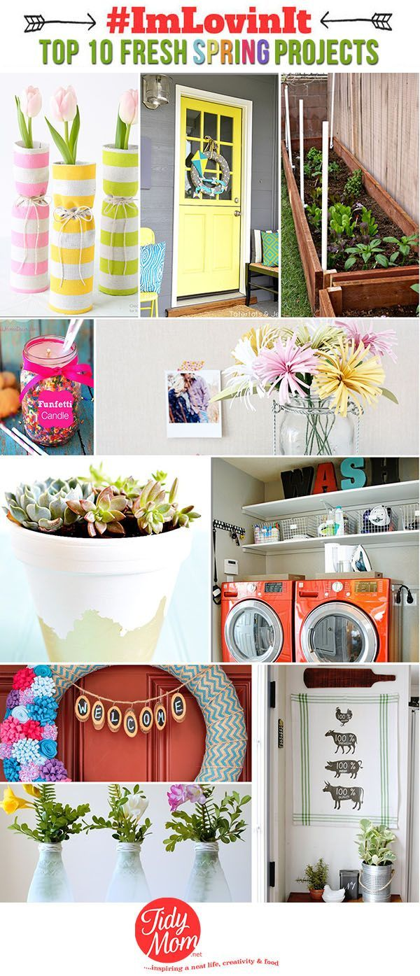 10 Fresh Spring Home Projects Spring Home Home Projects 400 x 300