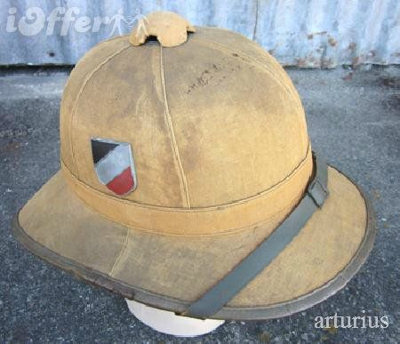 d63f9bf7ff8e9 WWII German Army Afrika Korps 1st Pattern Pith Helmet