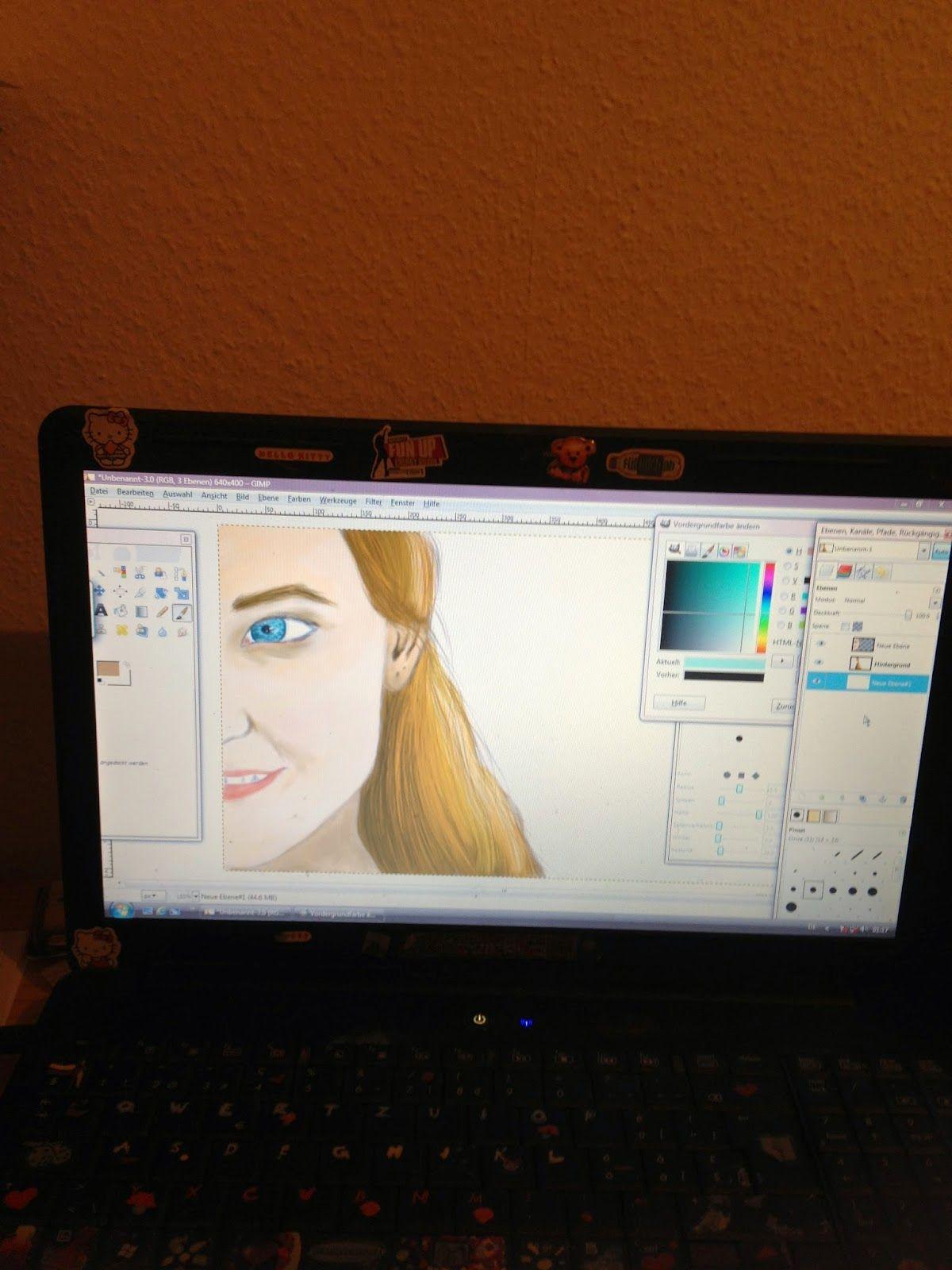 Pcselfie blog studium zeichnen