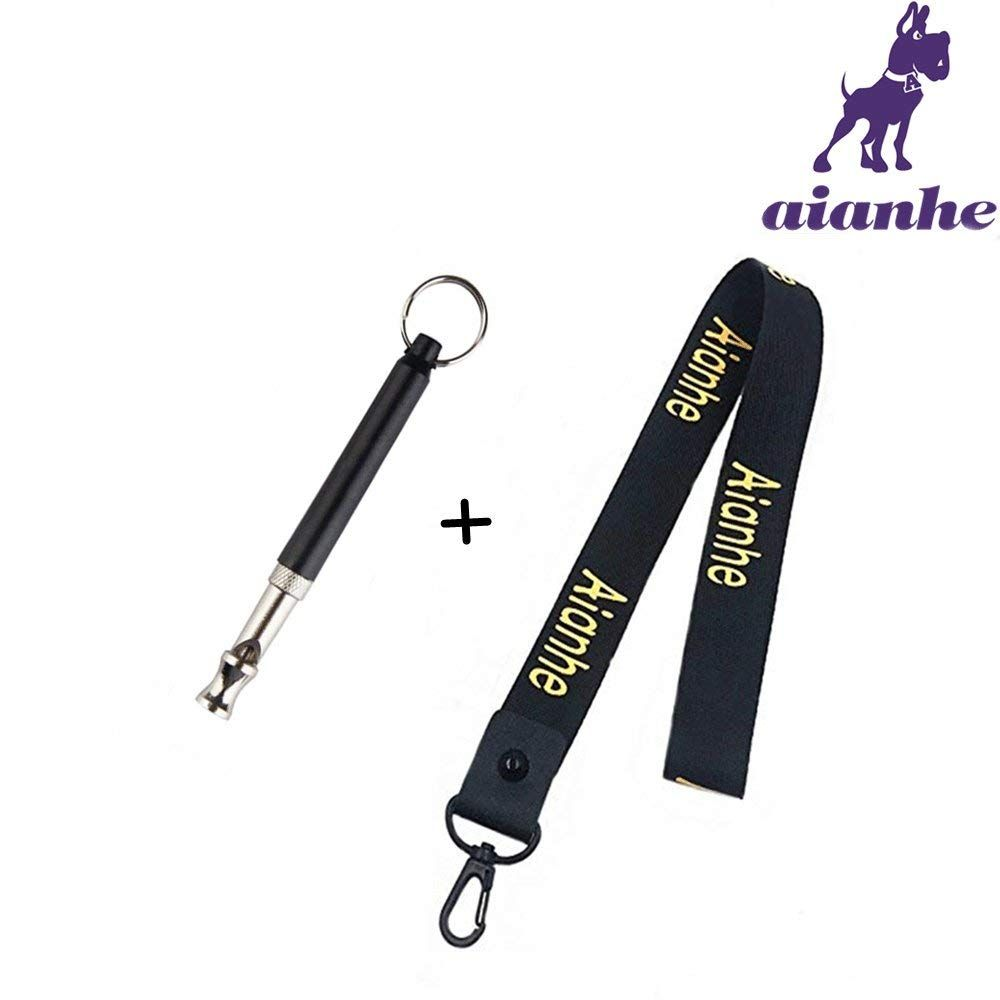 Aianhe Dog Whistle to Stop Barking-Adjustable Pitch