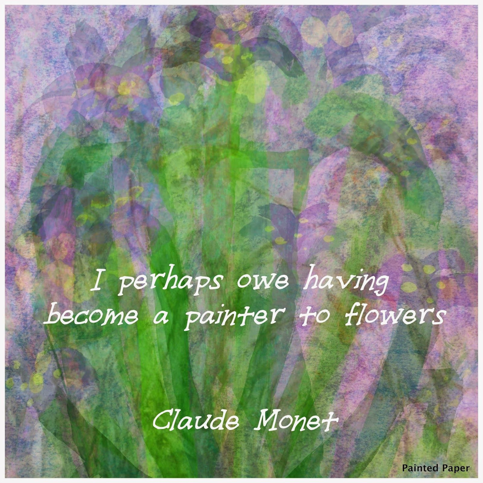 Irises were among Monet's favorite flowers. They lined the pathways leading up to the house and Japanese bridge on the artist's propert...