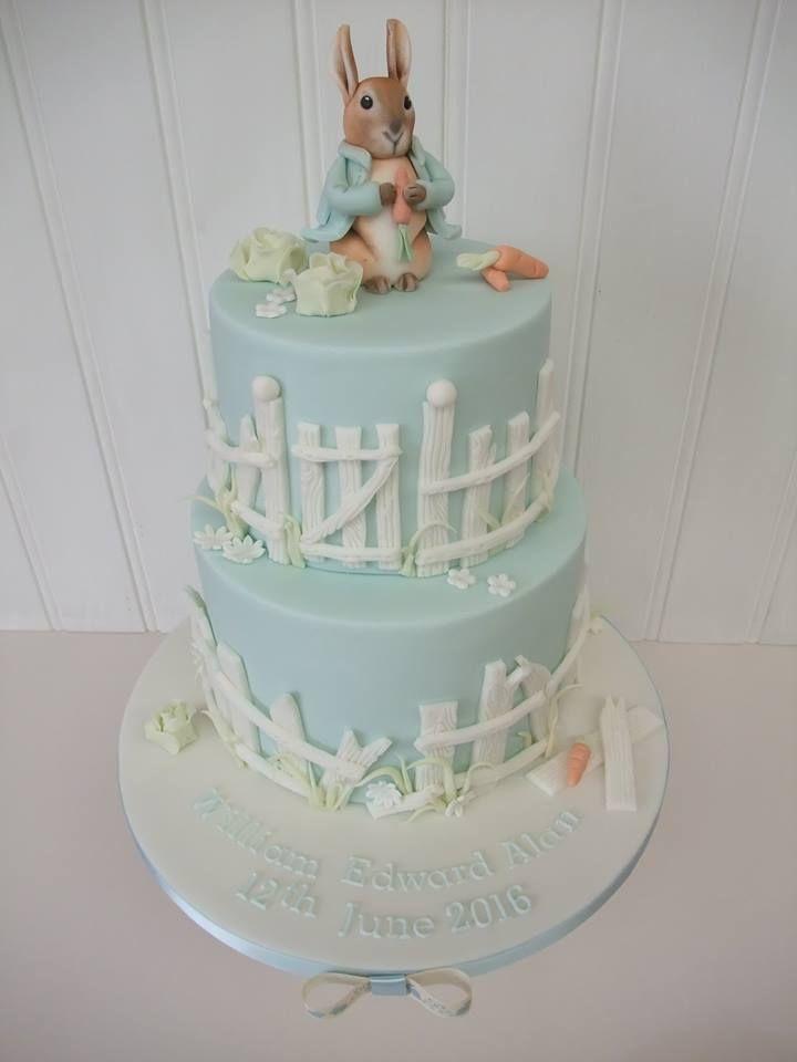 Two tier Peter Rabbit Cake - Beatrix Potter