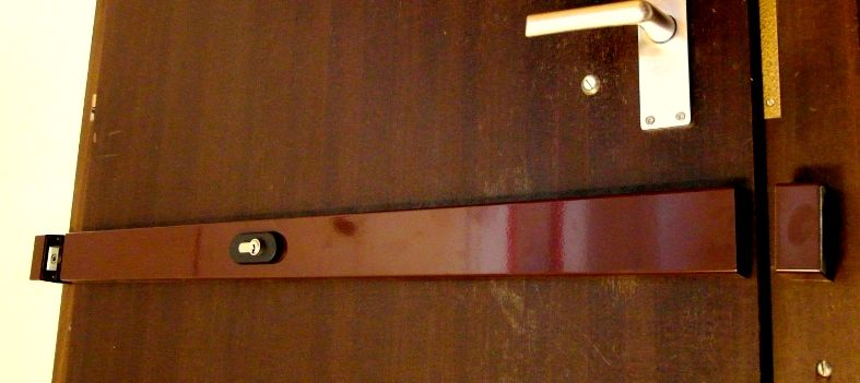 barre de s curit blind e titan avec cylindre s curis k66. Black Bedroom Furniture Sets. Home Design Ideas