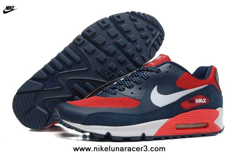 Buy Mens Nike Blue Red Air Max 90 Hyperfuse Trainers Shoes Prm from  Reliable Mens Nike Blue Red Air Max 90 Hyperfuse Trainers Shoes Prm  suppliers.