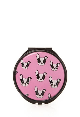 Boston Terrier Mirror Compact | FOREVER21 - 1000117232 ...