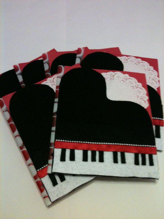 Piano Folders by SAILambdaPiChapter on Etsy, $8.00