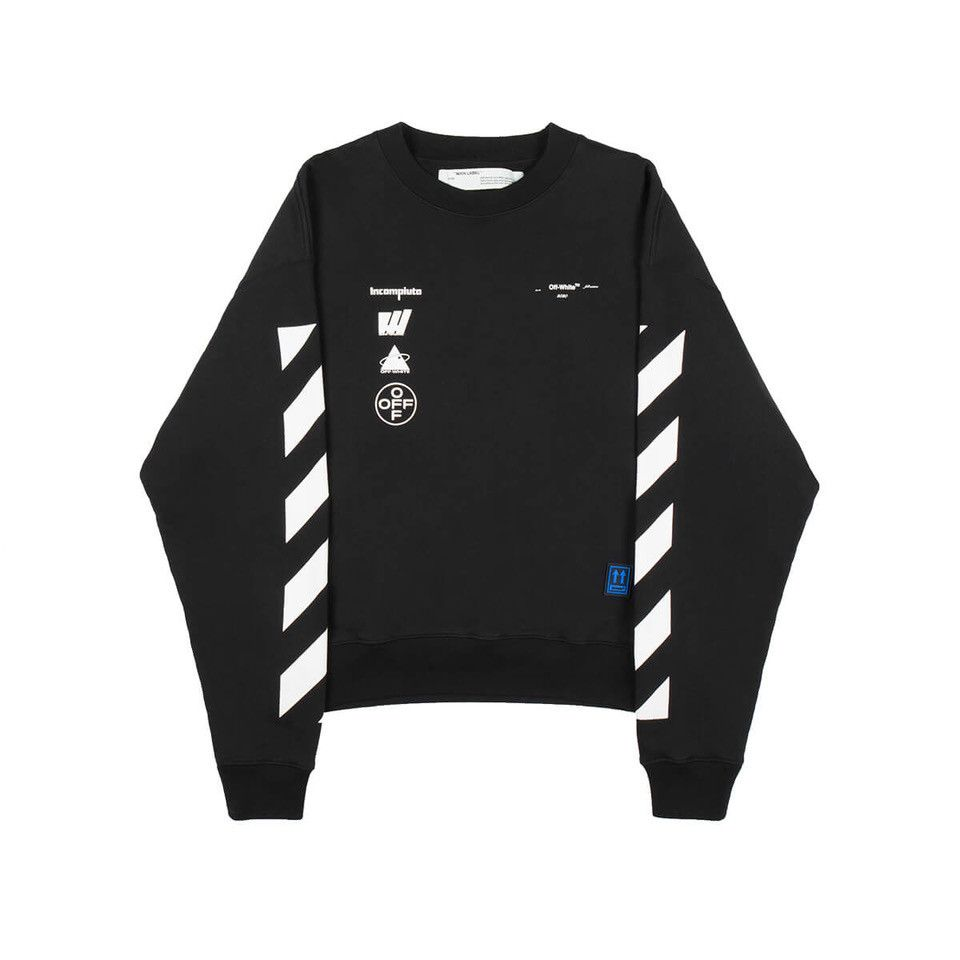 Diag Mariana De Silva Sweatshirt From The Pre F W2019 20 Off White C O Virgil Abloh Collection In Black Off White Shop Off White Fashion Sweatshirts [ 960 x 960 Pixel ]