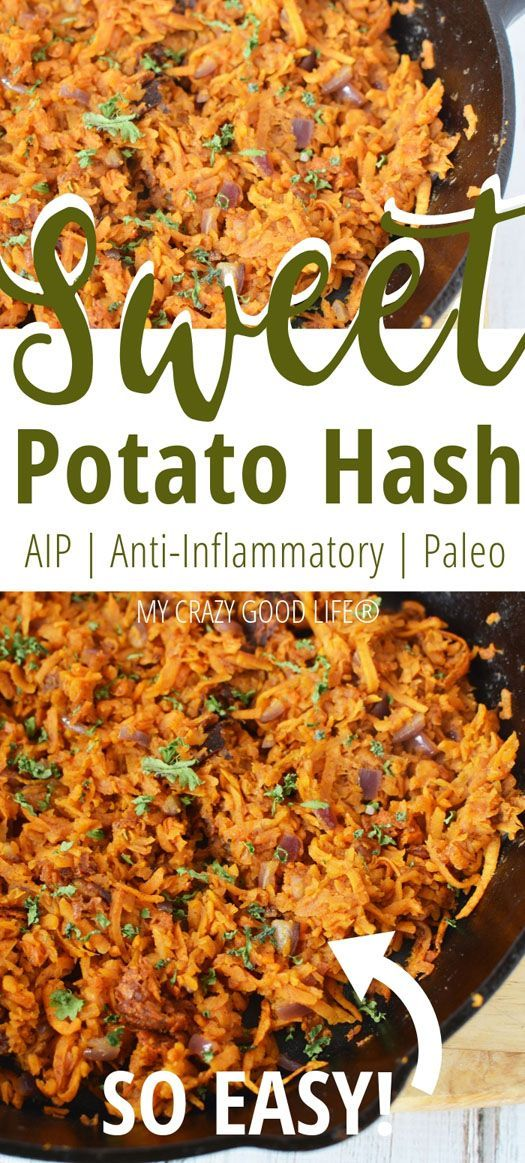 Photo of This shredded sweet potato hash is so filling and easy to prepare …