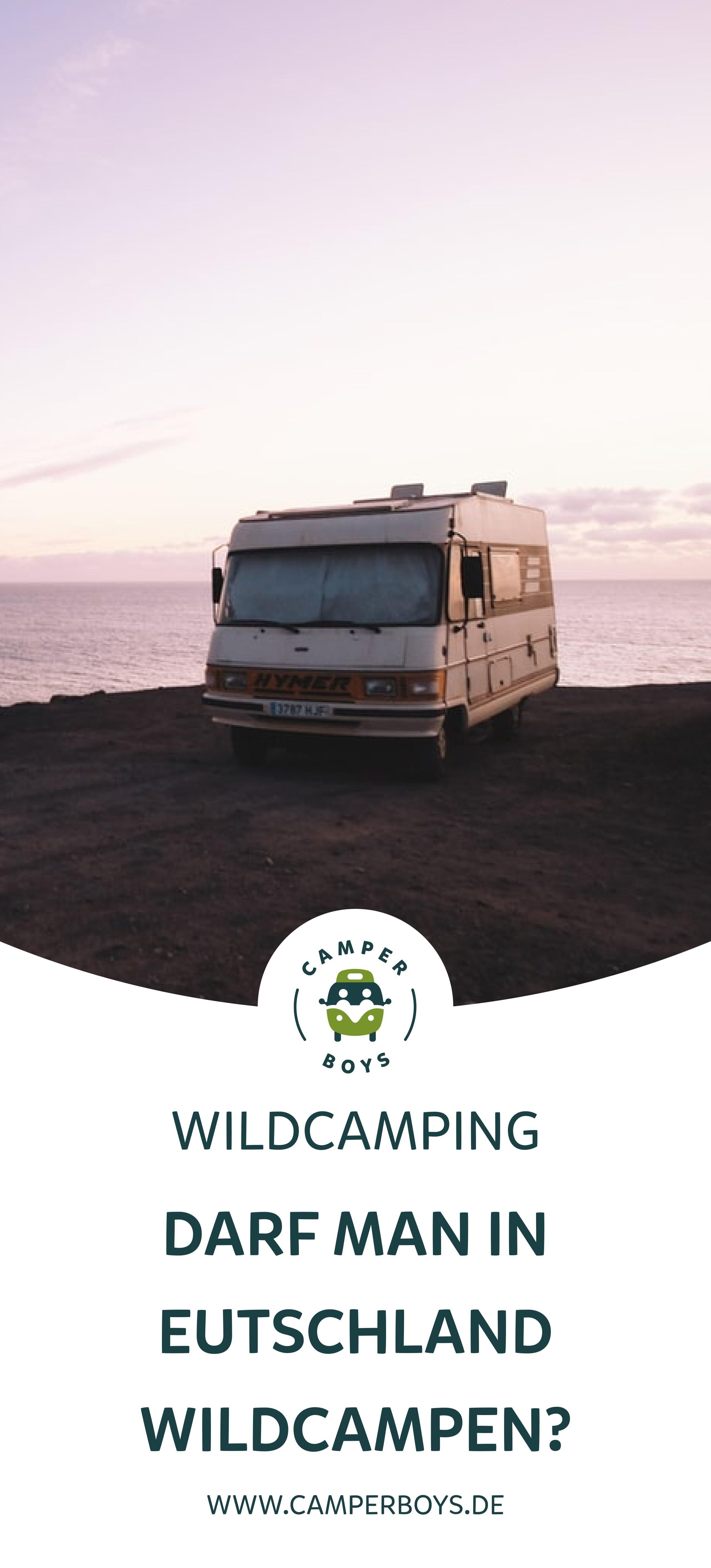 Wildcampen in Deutschland in 9  Wild campen, Camper, Camping