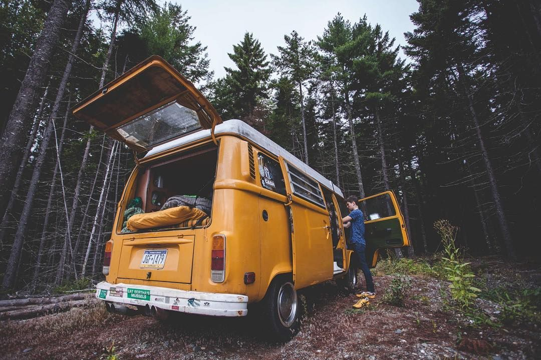 Check out the 5 Best Forests to hit up on the East Coast to get your fix of fall camping in, courtesty of @thedriftercollective // Acadia National Park, ME // 📷: @jamesbarkman #FindYourselfOutside 🌲🍃🍂