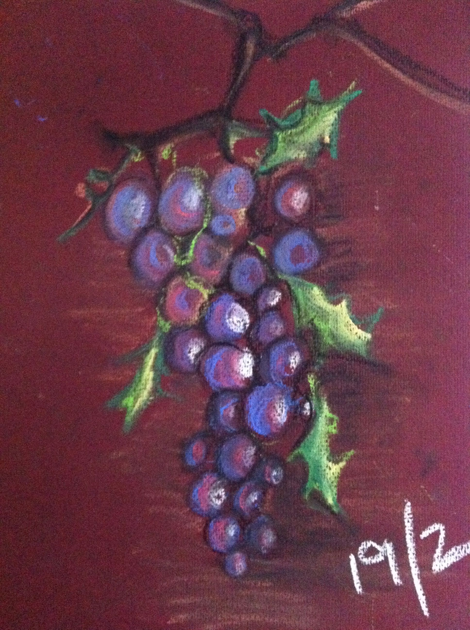 Grapes in Pastels