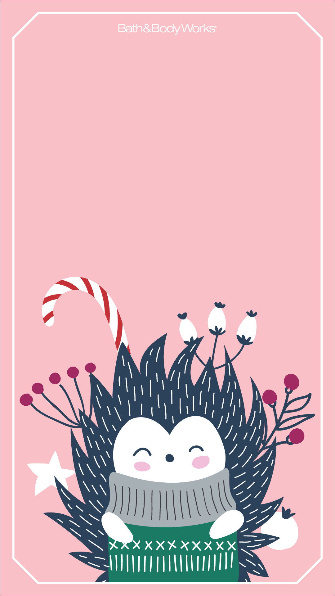 Christmas Hedgehog Wallpaper Wallpaper Iphone Christmas Iphone Wallpaper Winter Cute Christmas Wallpaper