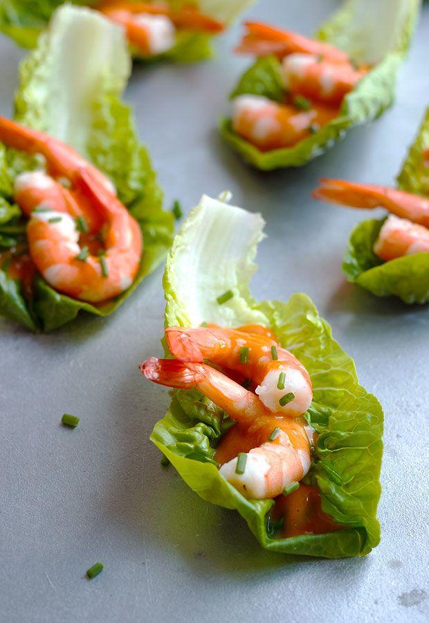 Shrimp Cocktail Lettuce Wraps | Food-e-licious | Cocktail ...
