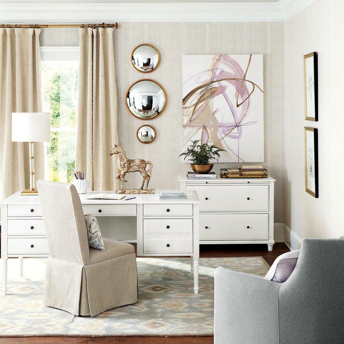 Ava Convex Wall Mirror in 2020 | Home, Ballard designs, Decor