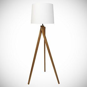 Wooden Tripod Floor Lamp With Cream Shade 75 From Sainsburys Wooden Tripod Floor Lamp Tripod Floor Lamps Floor Lamp Lighting