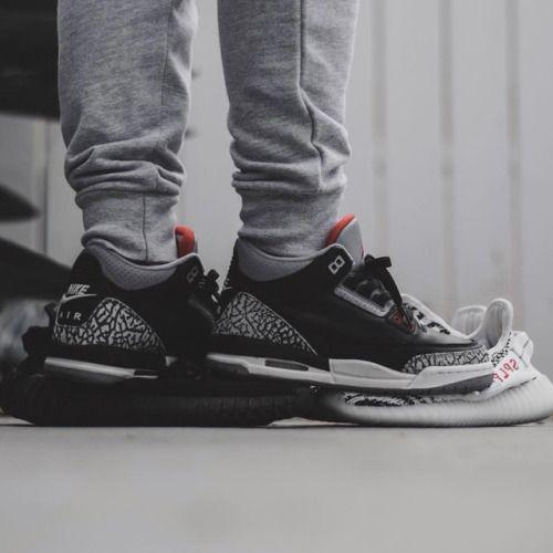 Nike Air Jordan 3 Black Cement (by little_laces)
