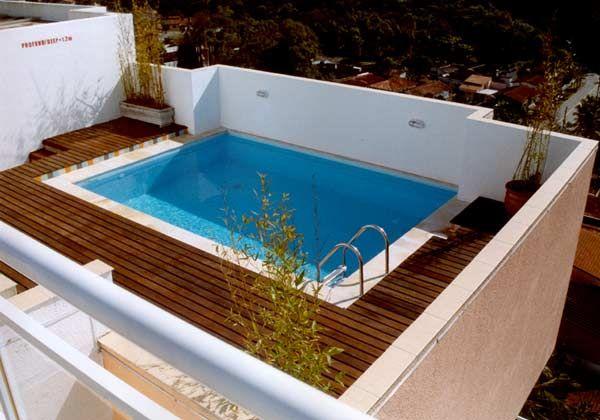 Piscinas pequenas para cobertura 600 420 terraza for Piscina pequena terraza