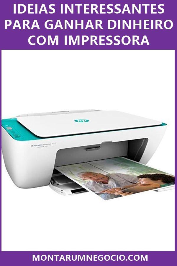 Como ganhar dinheiro com impressora: Dicas para lu...