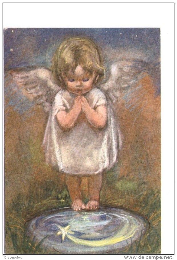 Q2515 CARTOLINA Con Illustrazione Firmata Zandrino Con Bambini Enfant Kinder Nino - Illustration - Ed. Studium Christi