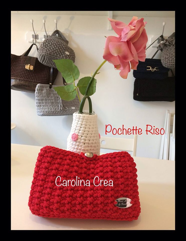 Handmade Fettuccia & co. Carolina Crea. | Pochette all