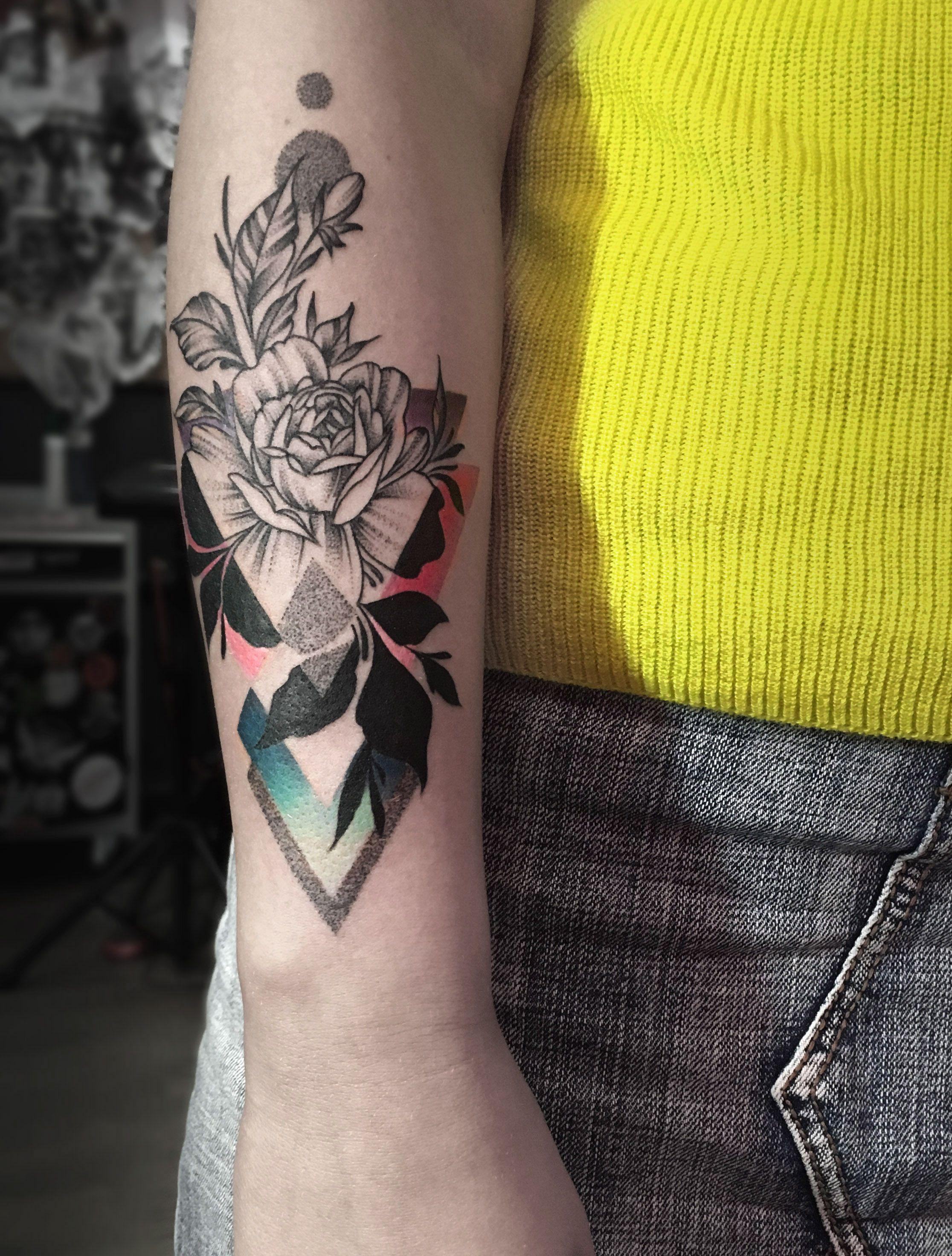 Black and graycolor tattoo artist dmitry razin riga