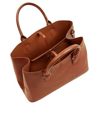 Classic Bucket Tote bag   Brown   Accessorize