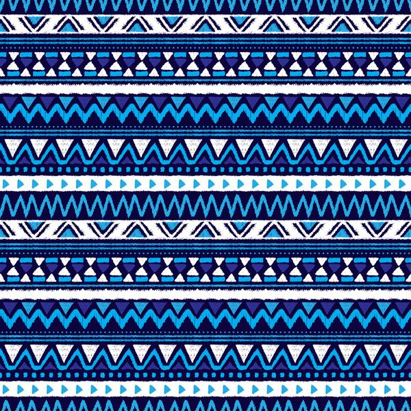 Blue Tribal Wallpapers: Pics For > Blue Aztec Pattern Wallpaper