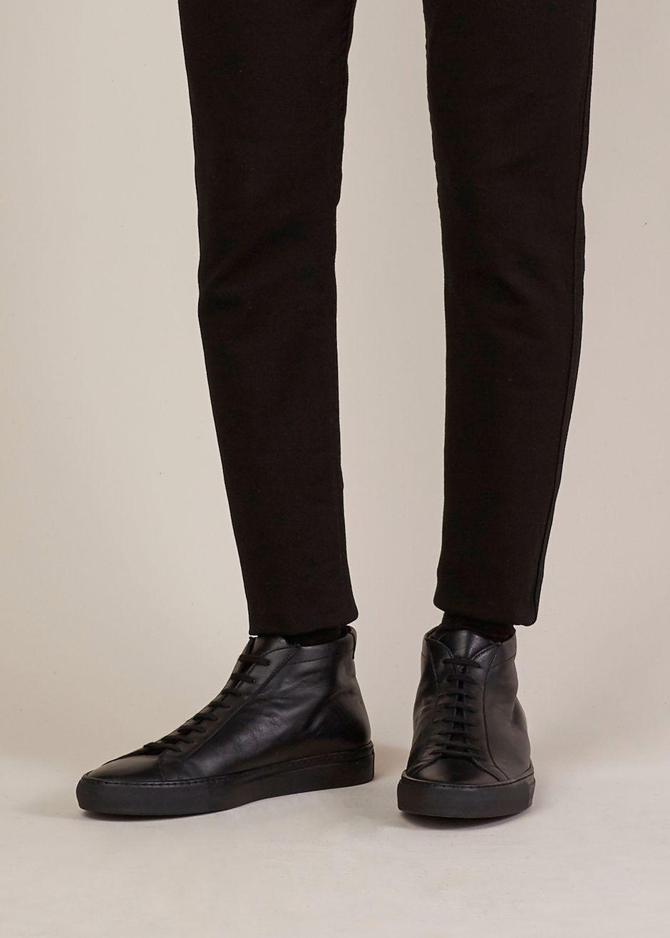 Common Projects Original Achilles Mid Sneaker Black Http Man