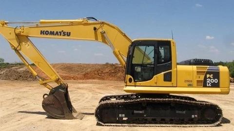 Download Komatsu Pc220lc 6 Usa Lc Crawler Excavator Service Repair Shop Manual S N A82001 A83000 Operation And Maintenance Komatsu Excavator