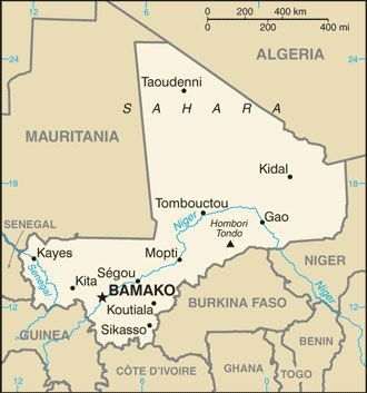 Map of mali africa cia world factbook africa pinterest the world factbook mali central intelligence agency gumiabroncs Images