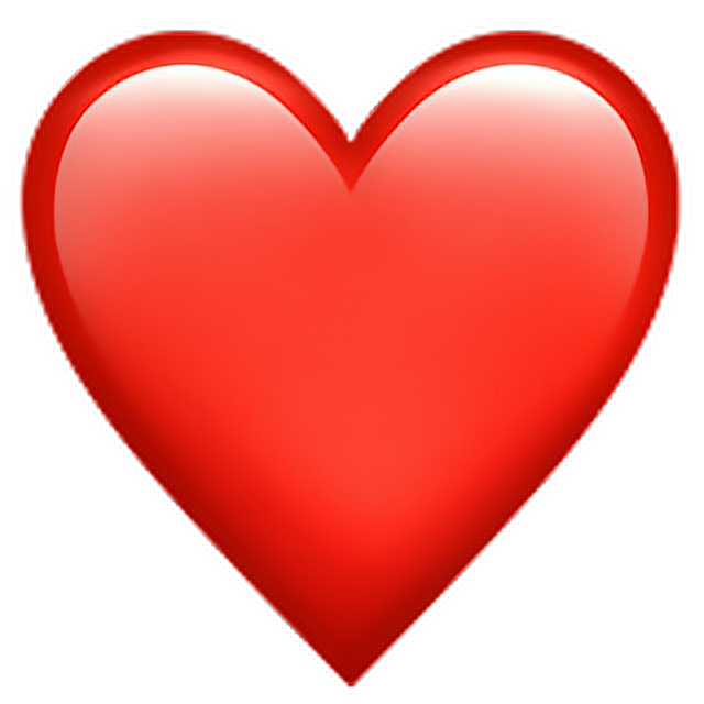 Discover the coolest redheartemoji red heart emoji
